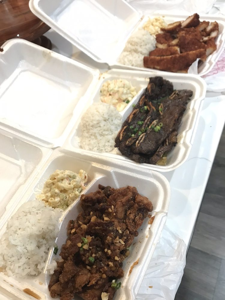 Hapa's Hawaiian Style BBQ: 133 S State St, Lindon, UT