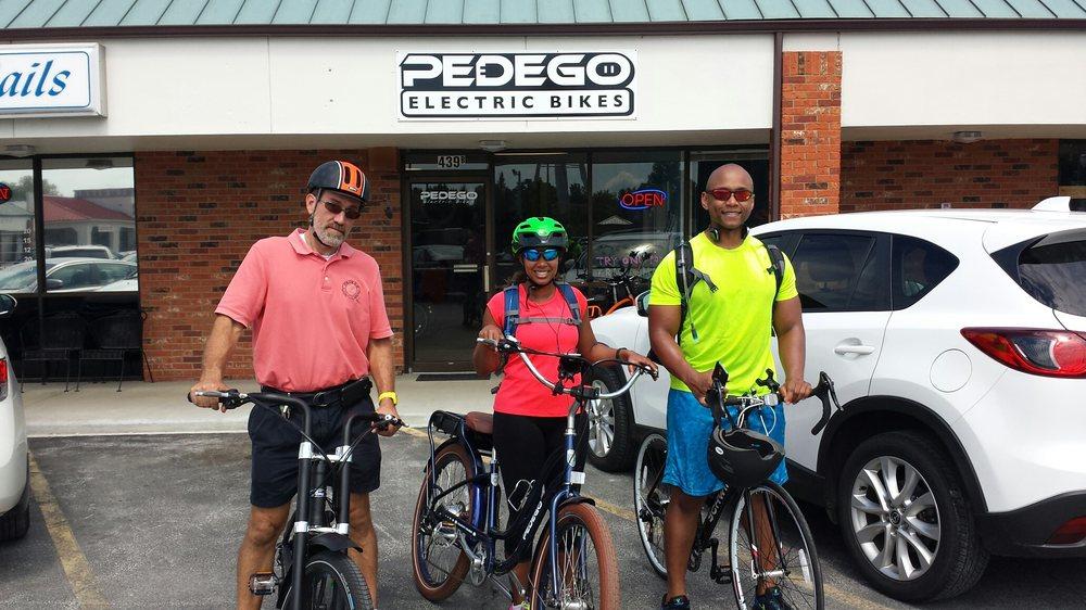 Pedego Electric Bikes Edwardsville: 439-B Buchanan St, Edwardsville, IL