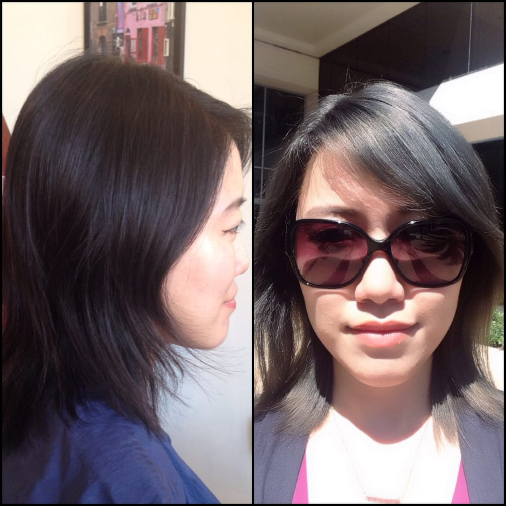 A Rare Color Correction Beauty From Black Hair To A Charcoal Grey