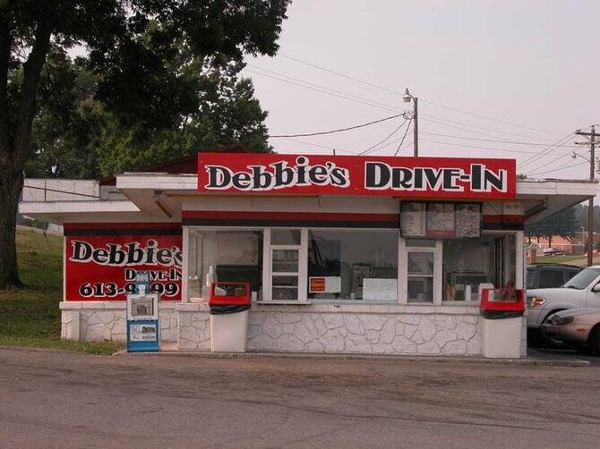 Debbie's Drive In: 157 W Broadway St, Newport, TN