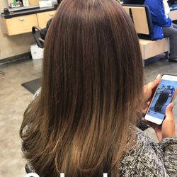 photo of supercuts los angeles ca united states complete color change from