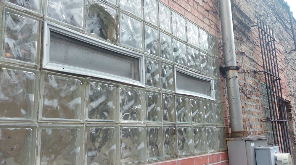 Chicago Glass Blocks: 6036 S Central Ave, Chicago, IL