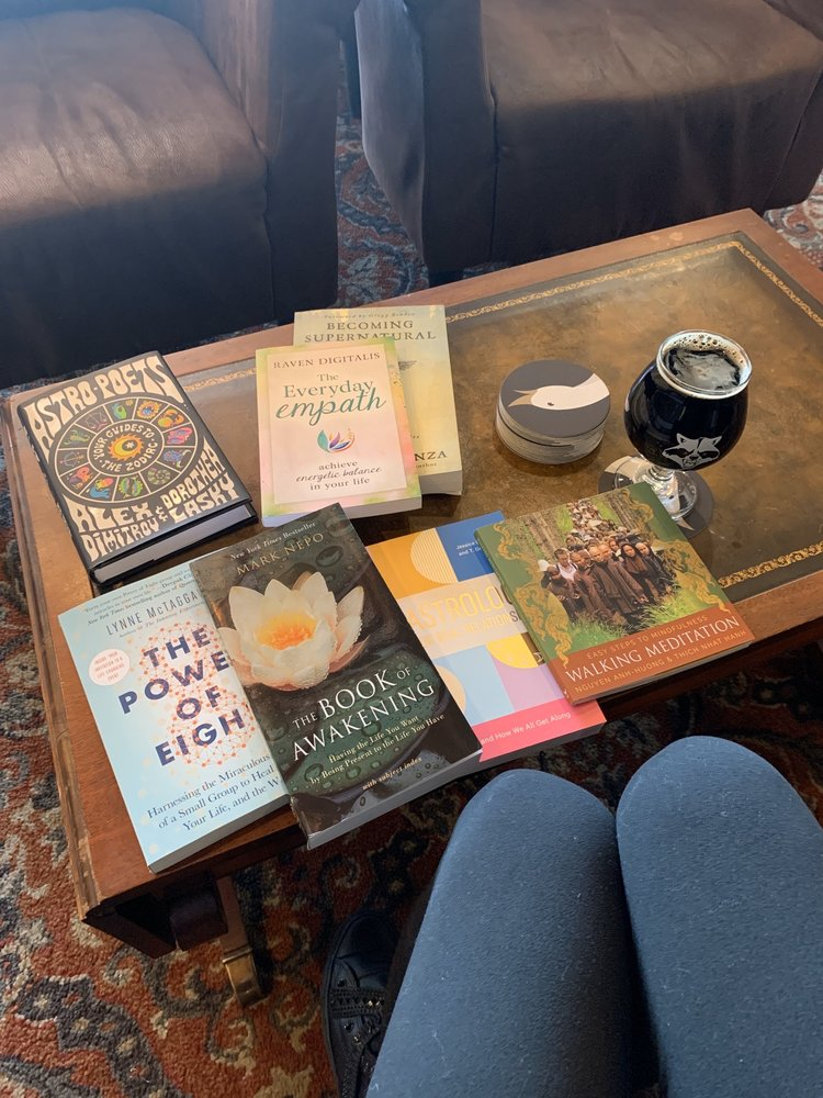 Food from The Barking Goose Bookstore Bar & Cafe