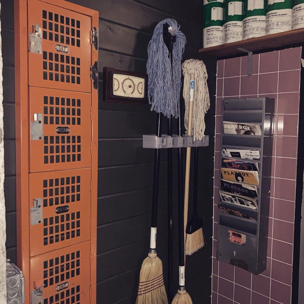 Janitor's closet: 312 W Chestnut St, Chicago, IL