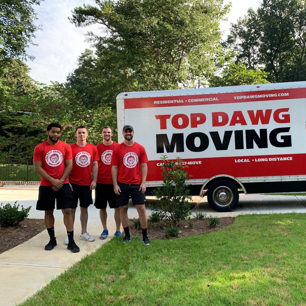Top Dawg Moving: 1325 Holcomb Bridge Rd, Roswell, GA