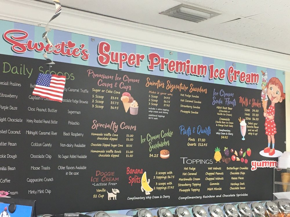 Sweetie's Ice Cream & More: 8781 SE Federal Hwy, Hobe Sound, FL