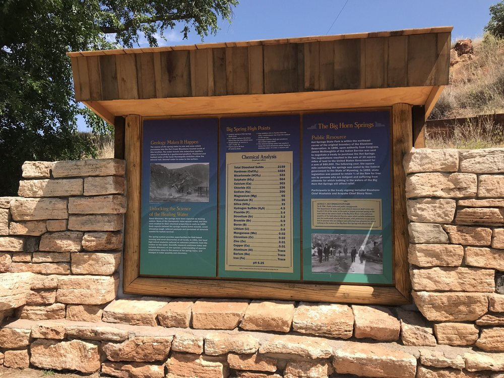 Hot Springs State Park: 168 Tepee St, Thermopolis, WY