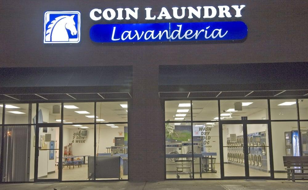 City Laundromat: 322 Veterans Memorial Blvd, Cumming, GA