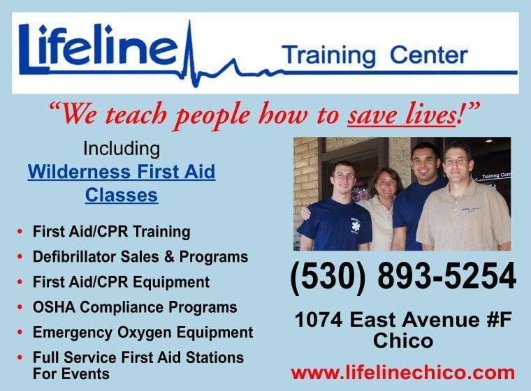 Lifeline Training Center: 1074 East Ave, Chico, CA