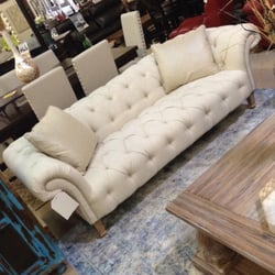 Photo Of Knox Furniture Gallery   Dallas, TX, United States. Linen Tufted  Sofa