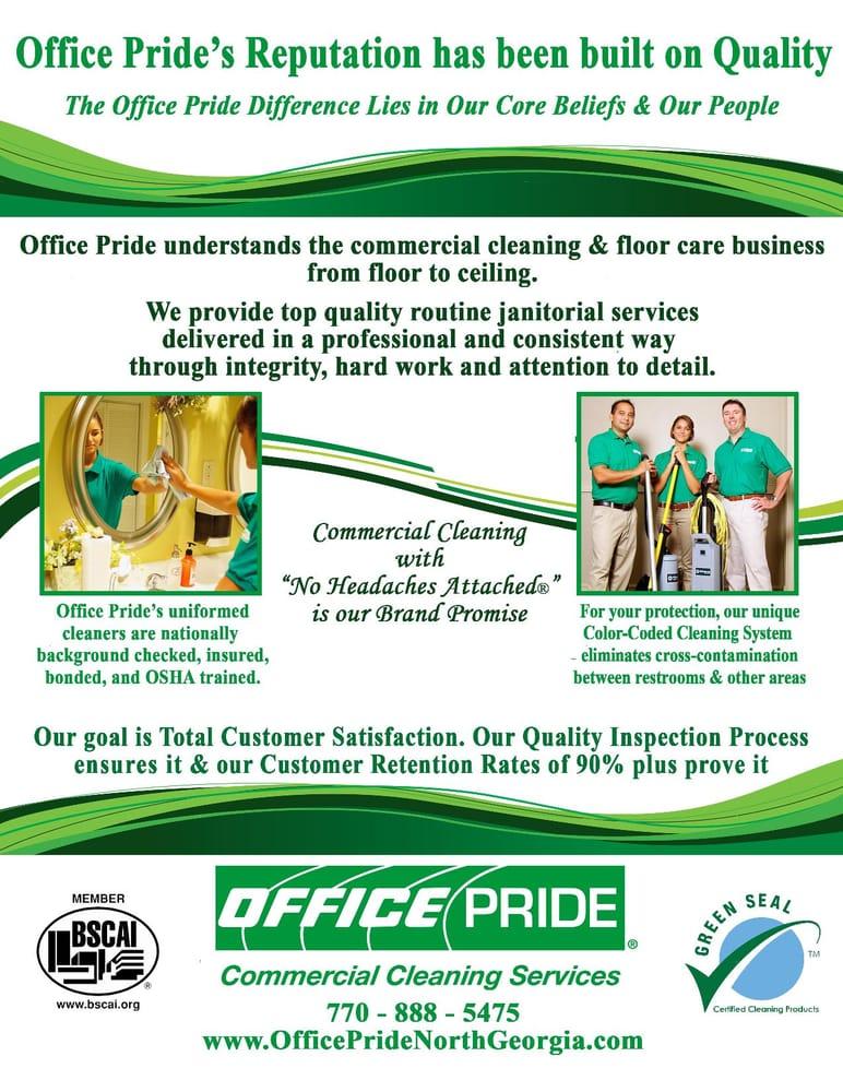 Office pride obtener presupuesto limpieza de oficinas for Presupuesto de limpieza de oficinas