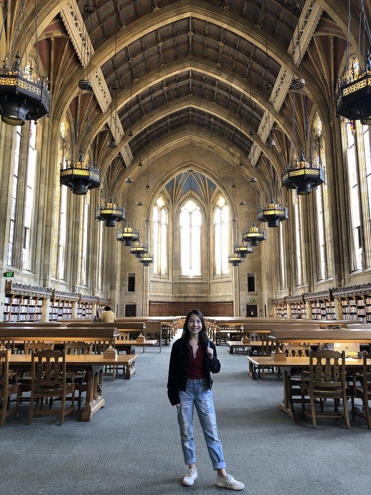 Suzzallo Library: 1 Spokane Ln, Seattle, WA
