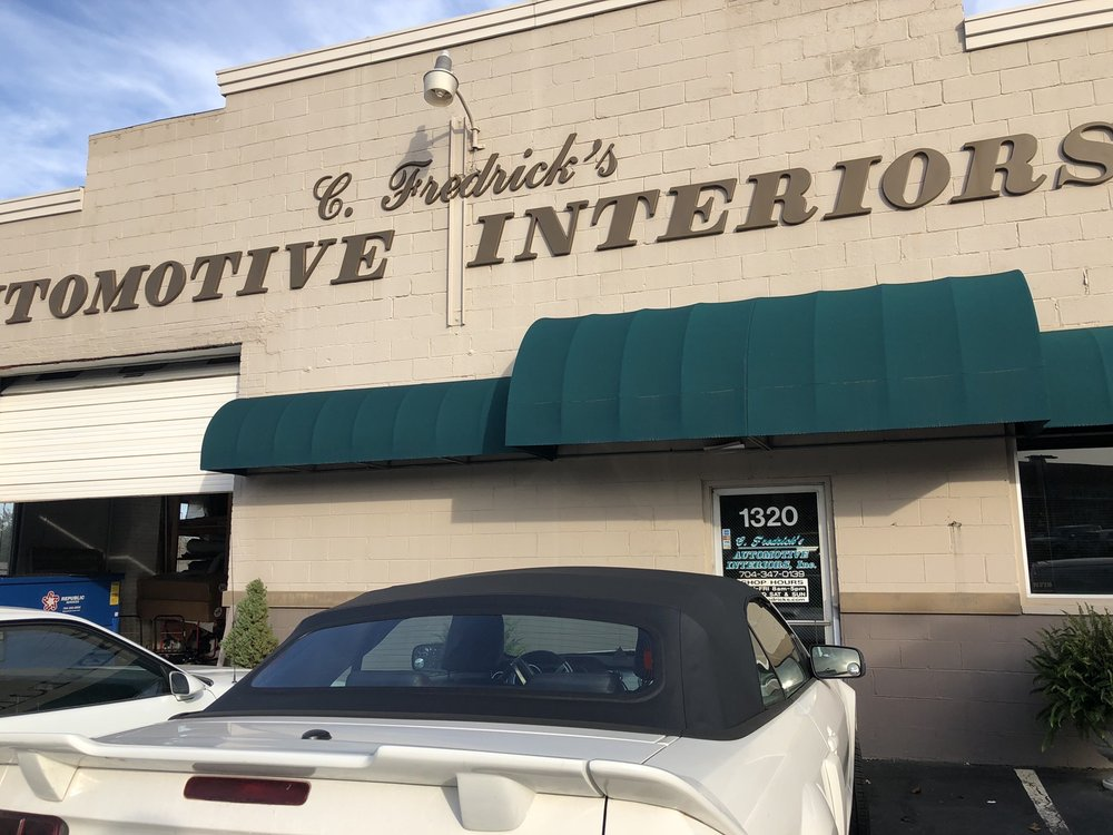 C Fredrick's Automotive Interiors: 1320 Nandina St, Charlotte, NC