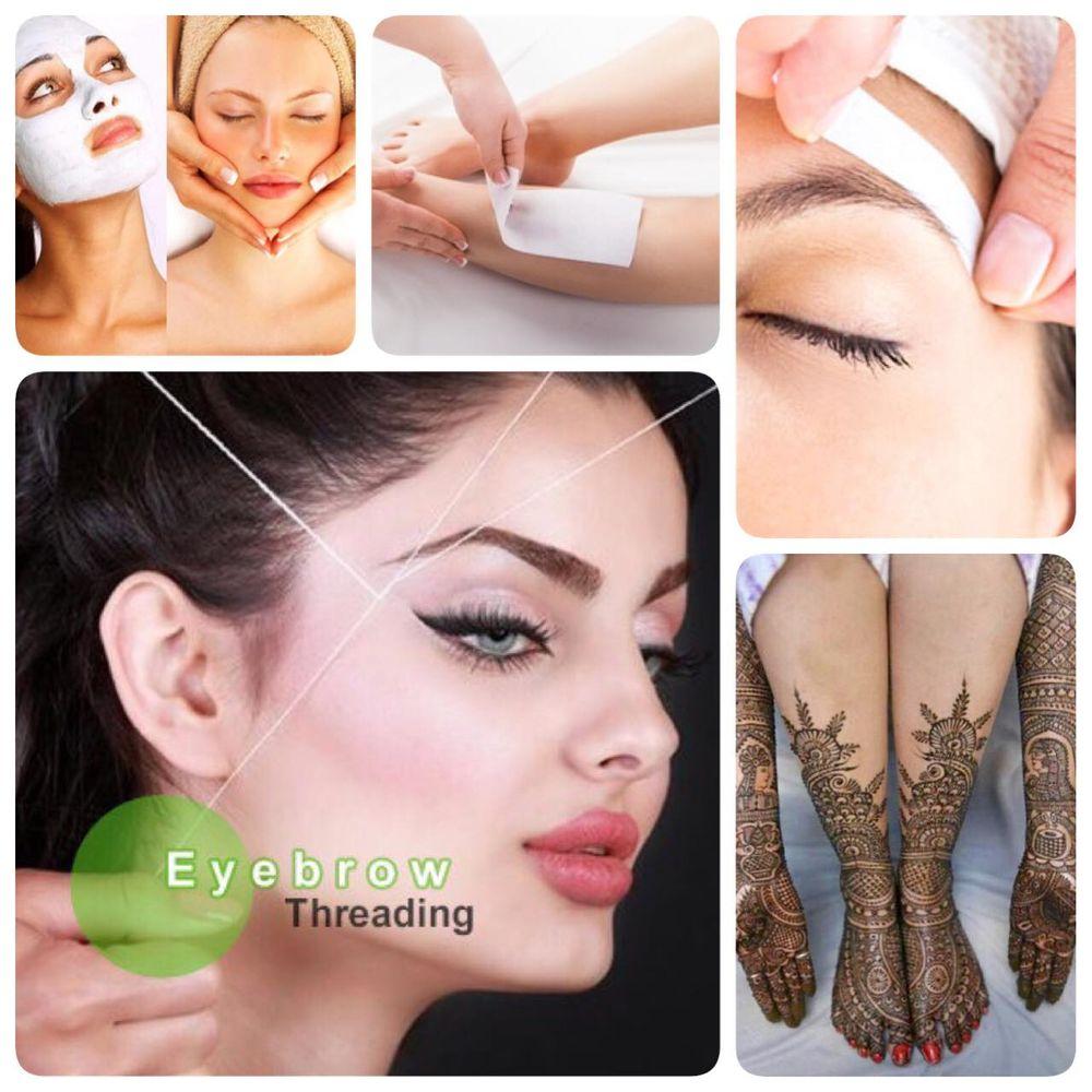 Best Place Eyebrow Threading Waxing Facial Spa Henna Art Etc Yelp