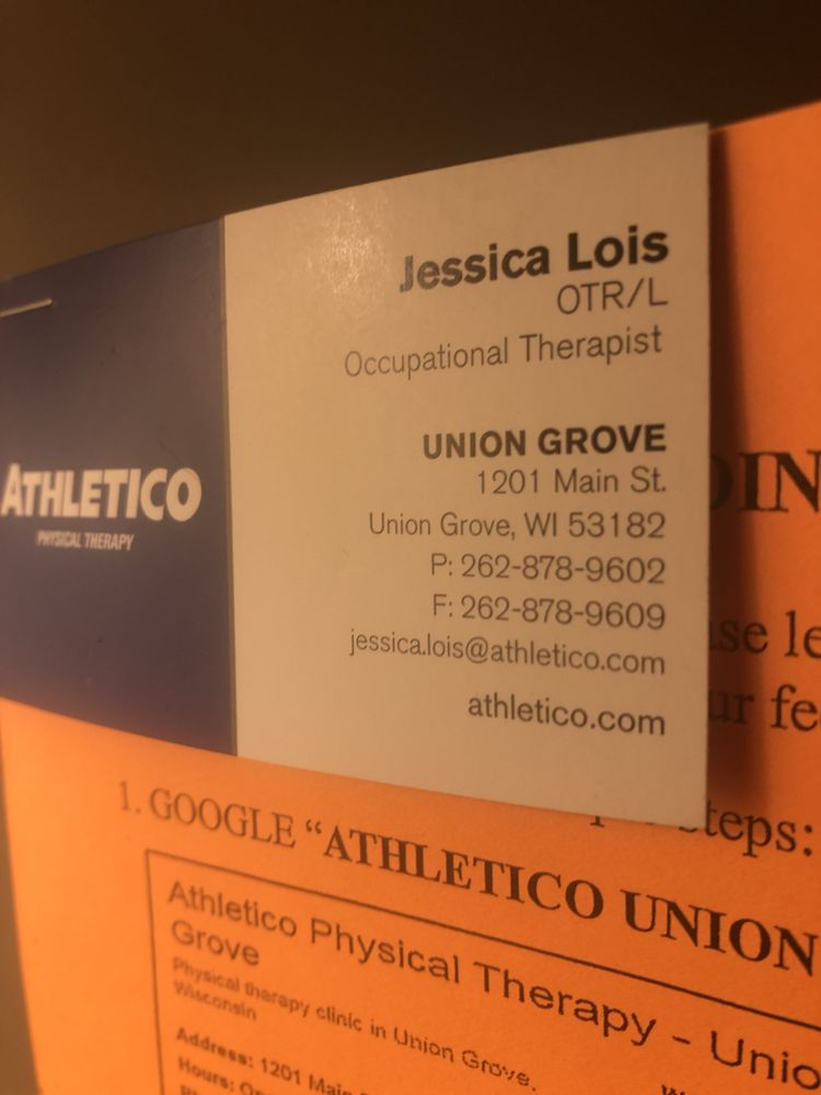 Athletico Physical Therapy - Union Grove: 1201 Main St, Union Grove, WI