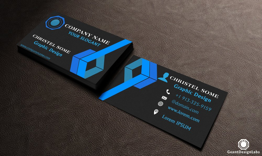 Geant Technology Services: Business Cards Design, Logo Design, and ...
