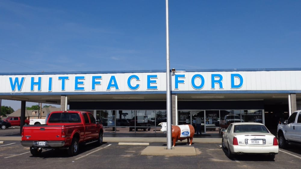 Whiteface Ford: 550 N 25 Mile Ave, Hereford, TX