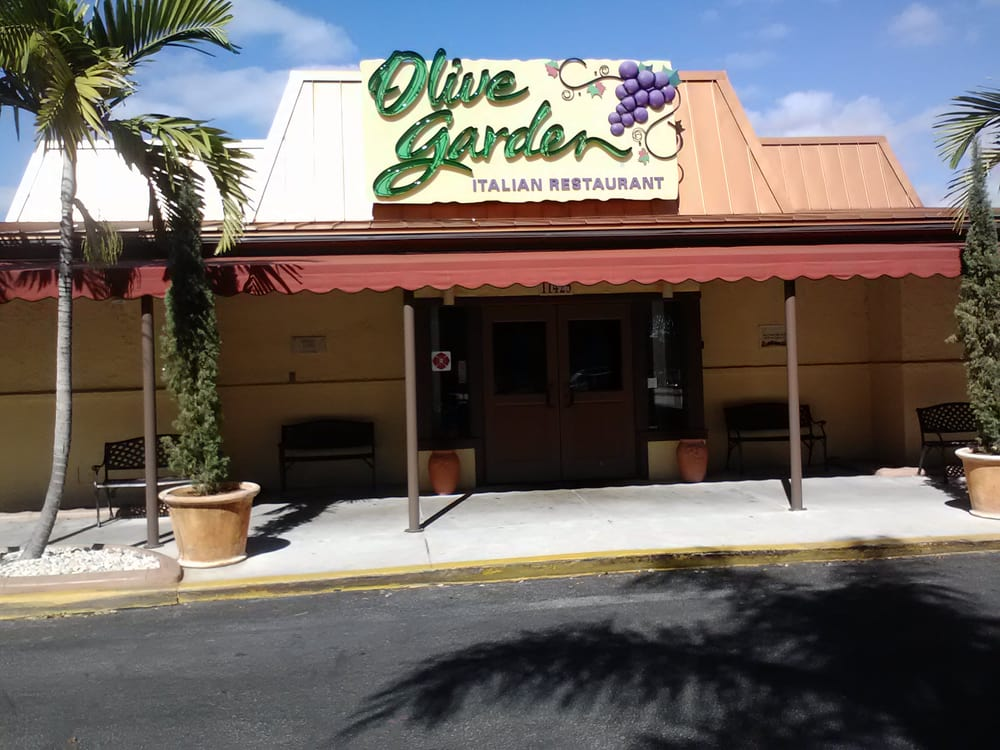 Olive Garden At Pembroke Pines Fl Yelp