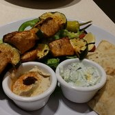 Zoes Kitchen Salmon Kabob zoes kitchen - 70 photos & 93 reviews - mediterranean - 14601 n
