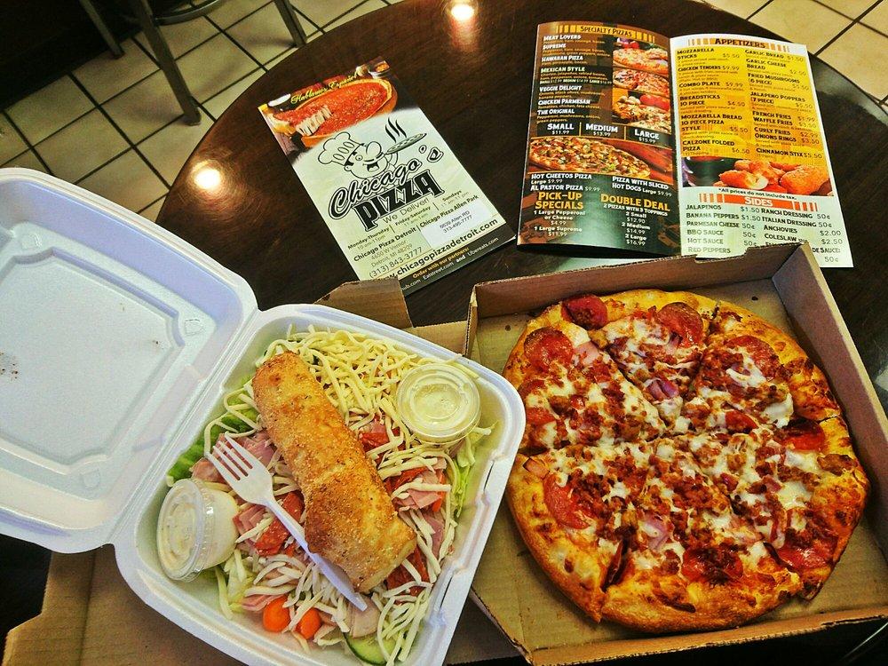 Chicagos Pizza: 6639 Allen Rd, Allen Park, MI