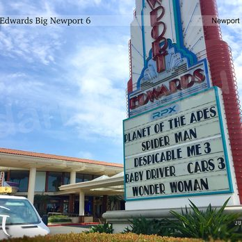 Edwards Theaters In Newport Beach