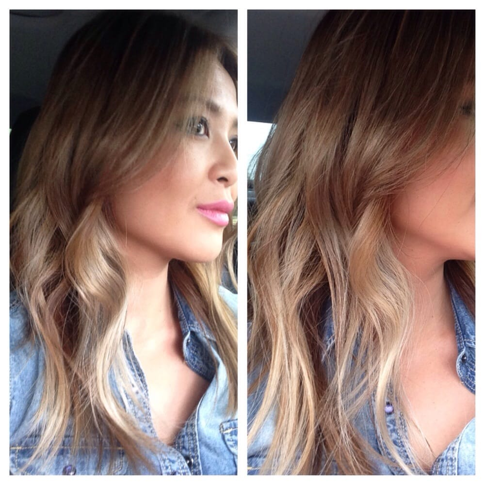 Completely Satisfied With The Result Beige Blonde With Low Lights