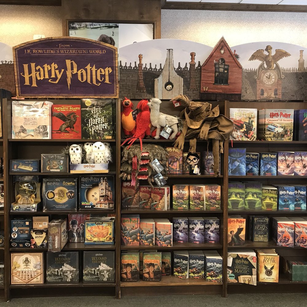 wow, check out this harry potter display!! yelpphoto of barnes \u0026 noble booksellers kansas city, mo, united states wow