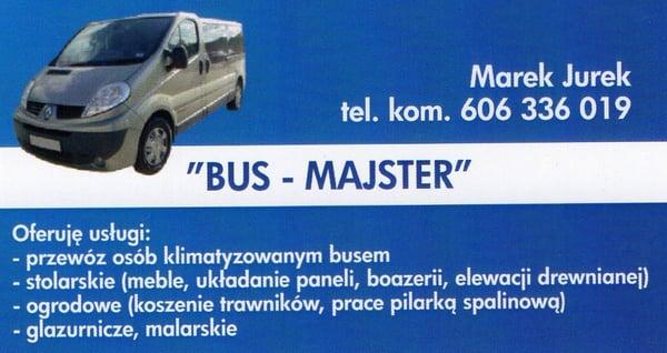 Bus Majster Car Hire Ul Wetlina 433 Wetlina Poland