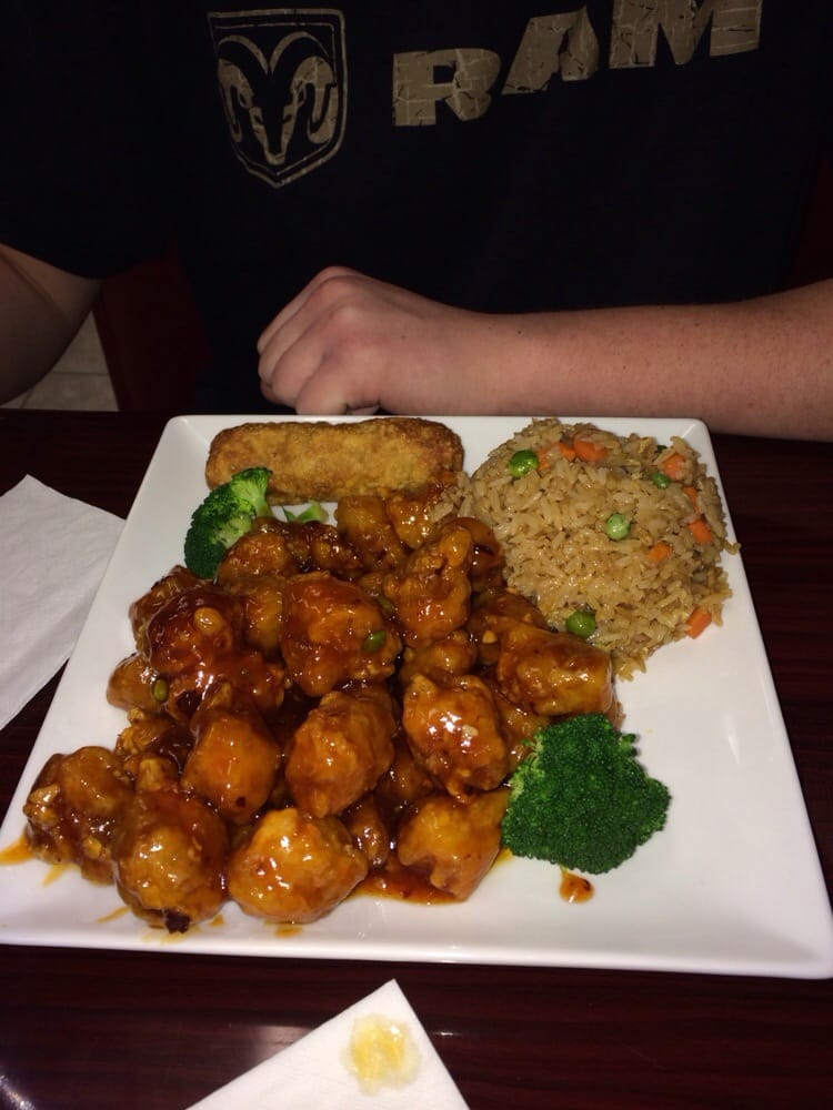 General Tsao 39 S Chicken Dinner Special Spicy Yelp