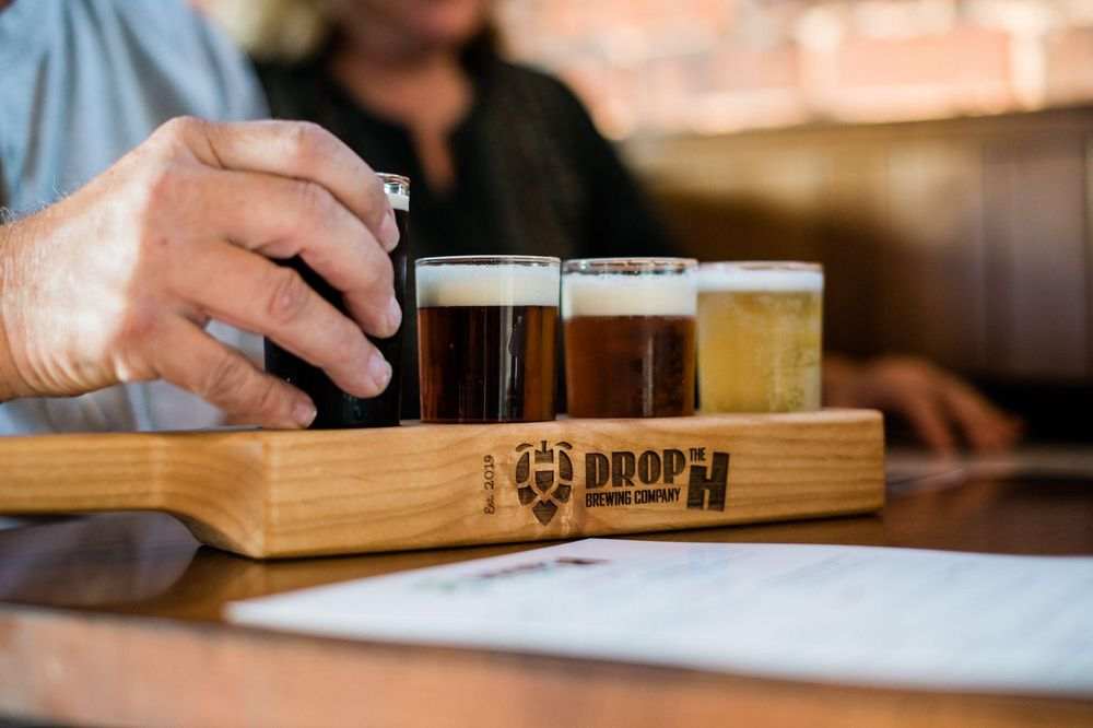 Drop the H Brewing Company: 107 E Rose St, Pittsburg, KS