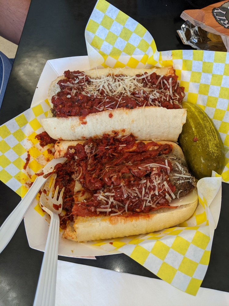 Food from Rustic's Subs