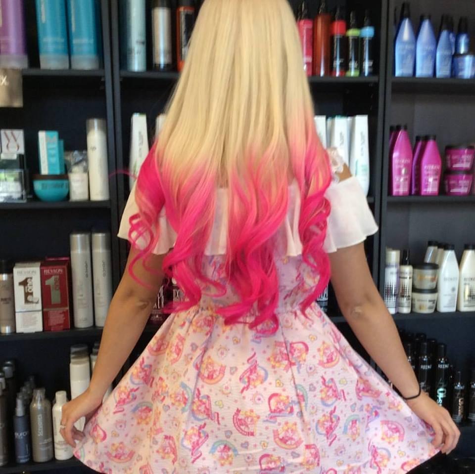 Photo Of Raelene S Hair Salon East Moriches Ny United States Hot Pink