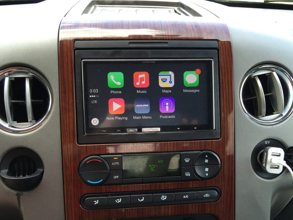 Houston Car Stereo: Installation Of Alpine ILX-007 In A