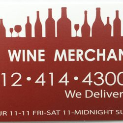 Nyc wine merchants 14 reviews beer wine spirits 745 6th ave photo of nyc wine merchants new york ny united states business card reheart Choice Image