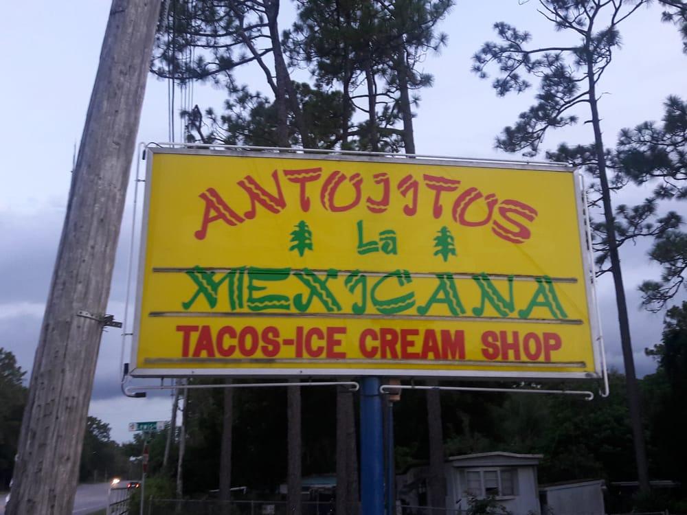 Antojitos La Mexicana: 4550 Rock Springs Rd, Apopka, FL