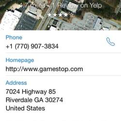 Gamestop Videos Video Game Rental 7024 Hwy 85 Riverdale Ga