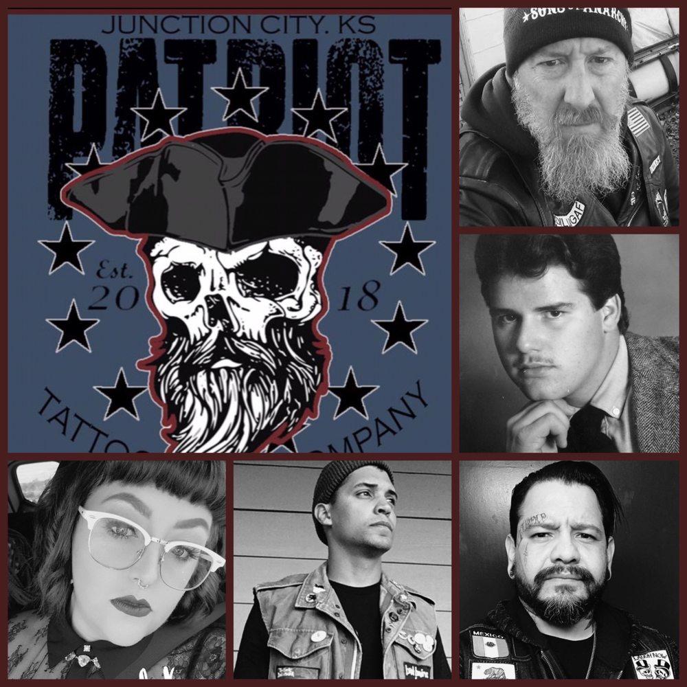 Patriot tattoo Company: 924 N Washington St, Junction City, KS