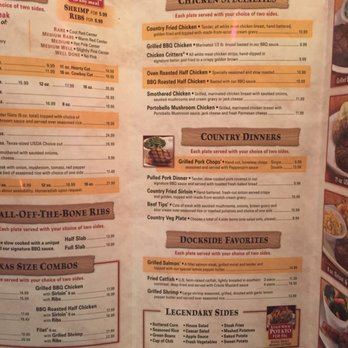 graphic about Texas Roadhouse Printable Menu named Logans menu with costs - Florida seashores getaway