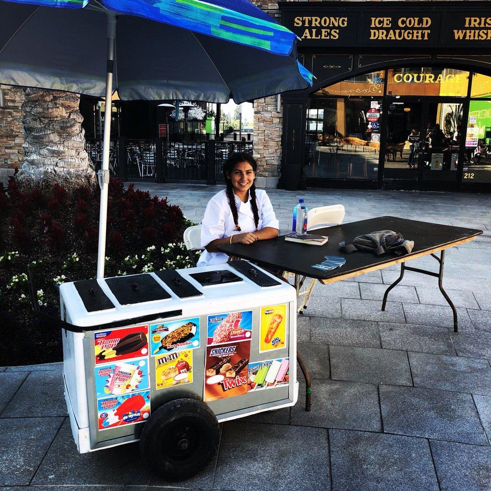 The Box Ice Cream Truck: 114 S Lemon St, Fullerton, CA