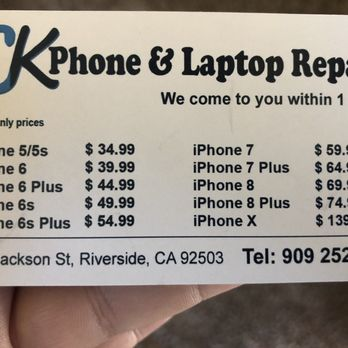 CK Phone and Laptop Repair - 2019 All You Need to Know