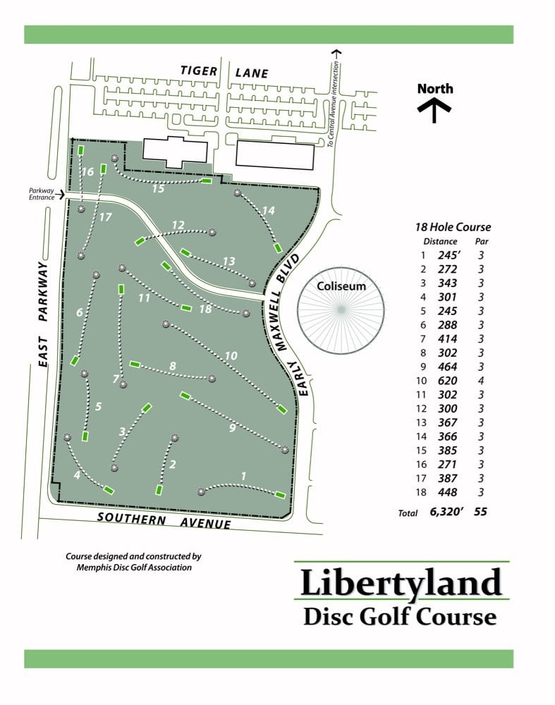 Libertyland Disc Golf Course