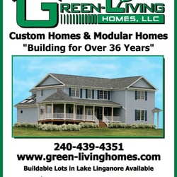 Green living homes aannemers 7313 grove rd frederick for Green living homes