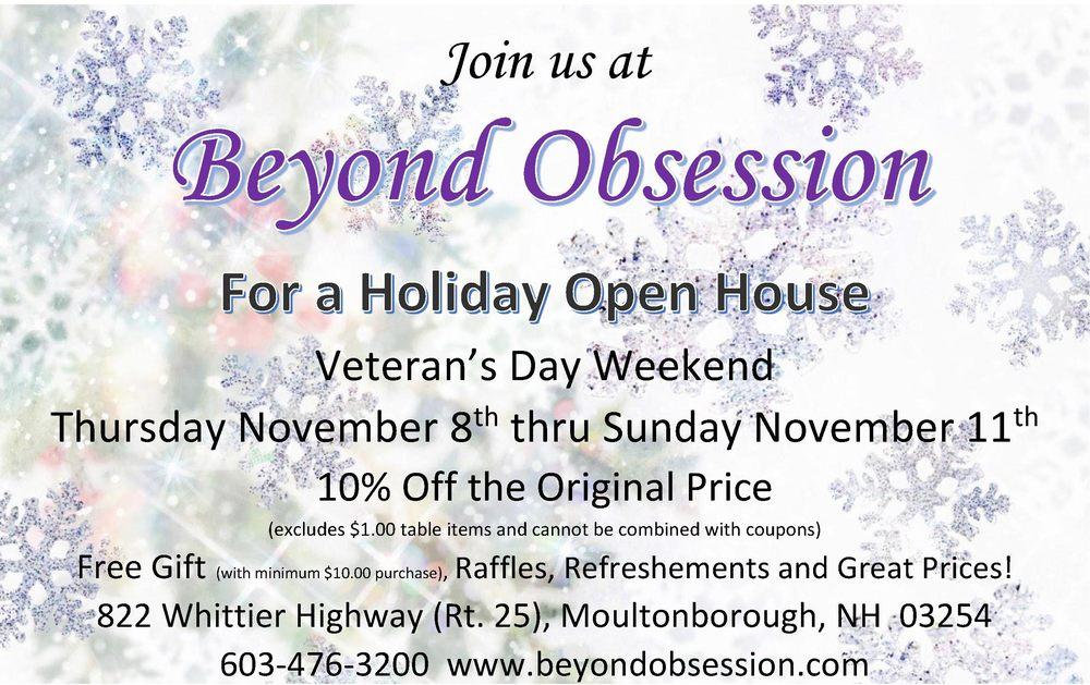 Beyond Obsession: 822 Whittier Hwy, Moultonborough, NH