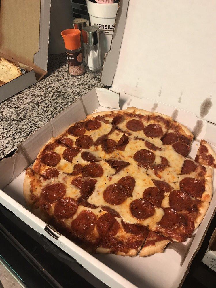 Sis & Harold's Pizza: 116 N Basil St, Baltimore, OH