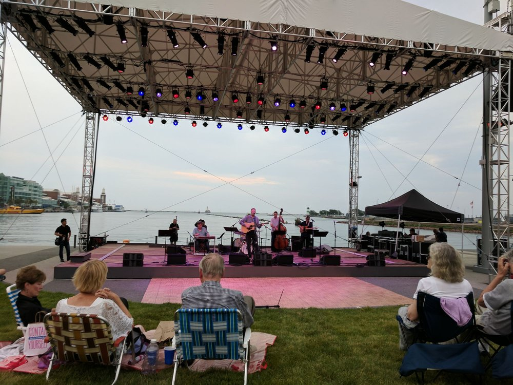 Lake Park Stage, Polk Bros Performance Lawn: 600 N Streeter Dr, Chicago, IL