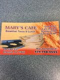 Mary's Cafe: 206 E San Bernard St, Brazoria, TX