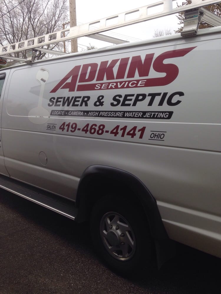 Adkins Drain Sewer & Septic Service: 9755 County Rd 20, Galion, OH