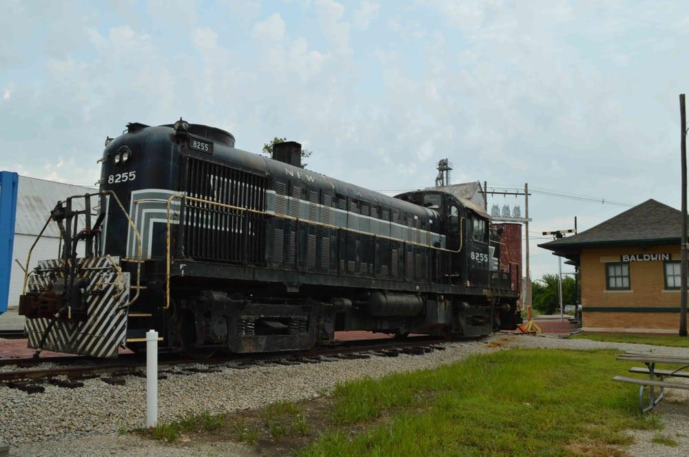 Midland Historic Railroad Depot: 1515 High St, Baldwin City, KS