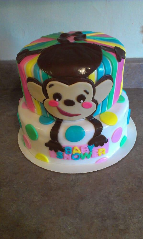 cakes azusa ca united states monkey themed baby shower cake