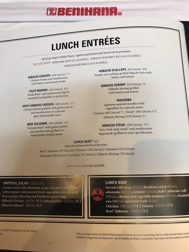 Benihana Lunch Deals   Lamoureph Blog  Benihana Lunch ...